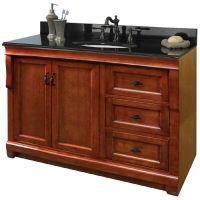 "Foremost 48"" Warm Cinnamon Vanity $599.00"