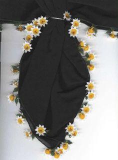 33 Gösterişli Siyah ve Beyaz İğne Oyası Modeli Needle Lace, Baby Knitting Patterns, Boho Shorts, Embroidery Designs, Diy And Crafts, Elegant, Sewing, Dresses, Fashion