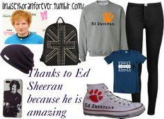 """Random ( Ed Sheeran ) @Neriah Tiffani"" by lindseysears on Polyvore"