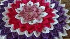Bellos Tapetes tejidos a crochet