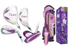 Girls Golf Clubs, Junior Golf Clubs, Golf Club Sets, A 17, Cool Kids, Golf Courses, Flora, Easy Entry, Camping Equipment