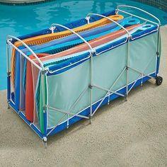Beau Gladon NR4B Swimming Pool Water Noodles Rack Storage Poolside Organizer On  EBay! $21.00   My House My Home | Poolside | Pinterest | Water Noodles, ...