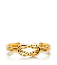 Hercules Bracelet, Tory Burch.  LOVE the infinity symbol