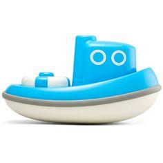 Blue Tug Boat by Kid O | eBeanstalk