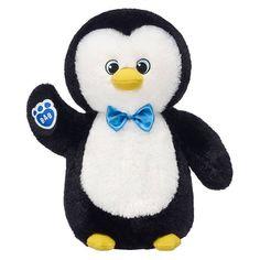 Snow Hugs Penguin Stuffed Animal | Boy | Build-A-Bear® Lampoon's Christmas Vacation, A Christmas Story, Unicorn Foods, Snow Much Fun, Bow Shop, Hanukkah Gifts, Santas Workshop, House Gifts, Blue Gift