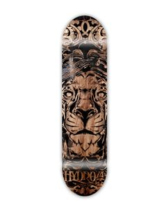 Laser Engraved Skateboard Designed by Hydro74