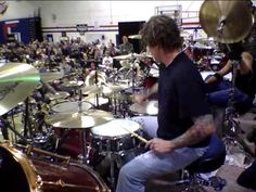 Steve Moore (The Mad Drummer) Solo at Woodstock 2010