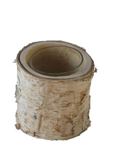Birch, for a little rustic.