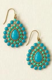cute earrings from stella and dot <3