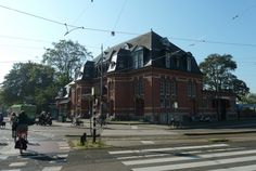 Amsterdam South.  Macy's. In the original Haarlemmermeer Station. The old tram ride starts here. Photography.