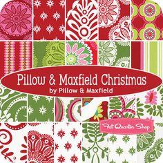 Pillow & Maxfield Christmas Yardage for my new Christmas tree skirt