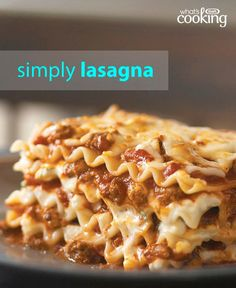 This easy recipe for Simply Lasagna is a family-favourite and a true crowd-pleaser. You save 15-20 min of prep time by using uncooked noodles and water. Try this no-fuss way of baking a great-tasting lasagna.