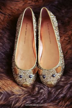 Marc by Marc Jacobs glitter mouse flats Pretty Shoes, Beautiful Shoes, Shoe Boots, Shoes Sandals, Kobe Shoes, Louboutin, Espadrilles, Dream Shoes, Winter Shoes