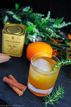 The Earl of Orange – A Bourbon Cocktail
