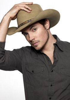 Josh Henderson - I wouldn't want to live in Texas, but I can appreciate a cowboy hat.