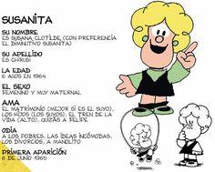 Mafalda/Susanita - (Quino)