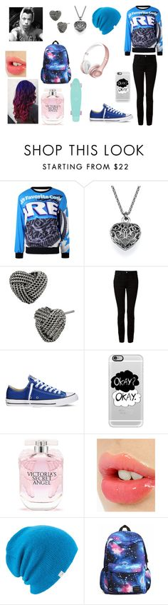 """""""Me and Taylor making a vine"""" by makayla-cowan on Polyvore featuring Betsey Johnson, T By Alexander Wang, Converse, Casetify, Victoria's Secret, Charlotte Tilbury, Coal, women's clothing, women and female"""