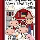 Click, Clack, Moo Cows That Type Activity Book Unit   {Based On Common Core Standards}    This unit has 105 pages of ideas, discussion questions, game...