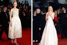 Mit wunderschöen Abendkleidern trotzten die Stars dem verregneten Eröffnungsabend in Cannes. Wir zeigen die schönsten Roben!