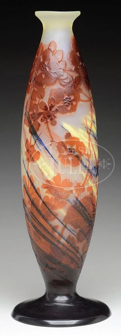 Buy online, view images and see past prices for GALLE INTERNALLY DECORATED CAMEO GLASS VASE.. Invaluable is the world's largest marketplace for art, antiques, and collectibles.