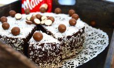 Kärleksmumstårta med Maltesers   Catarina Königs matblogg Maltesers Chocolate, Swedish Recipes, Fika, Cake Cookies, Tart, Sweets, Drinks, Birthday Cakes, Bakken