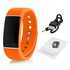 W-life Smart Wrist Band Sleep Sports Fitness Activity Tracker Pedometer Bracelet Watch (O) – watches