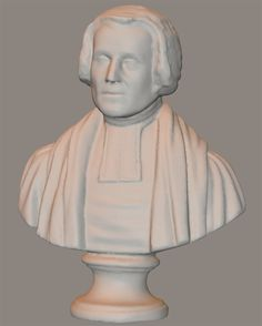 The 3D fine art models set for Poser and DAZ Studio includes: a bronze bust of Einstein, a plaster bust of John Wesley, a stone lion sculpture, and untitled plaster bust and a untitled stone sculpture.