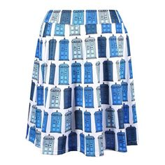 Doctor Who Her Universe TARDIS Skirt - BUY NOW #DoctorWho