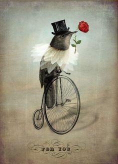 'The Groom' von Catrin Welz-Stein bei artflakes.com als Poster oder Kunstdruck