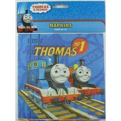 16 x Thomas Tank Engine Boys Birthday Party Paper Napkins Serviettes Supplies