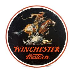 Four Winchester Advertising Signs, - Cowan's Auctions