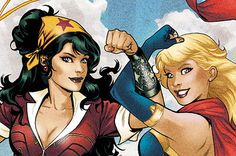 Pinup Superheroines Take Over DC Comic Covers This June
