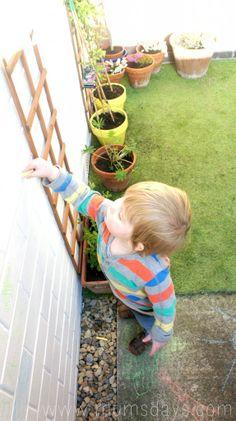 low maintenance garden – the update – making a small garden fun for little ones! Garden Leave, Big Garden, Family Garden, Garden Fun, Terrace Garden, Garden Spaces, Dream Garden, Garden Ideas, Child Friendly Garden