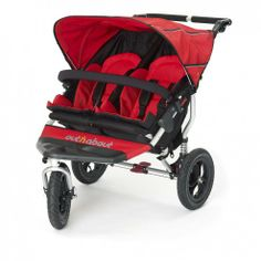 Out n About Nipper Double 360 V3 Carnival Red