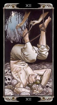 The Hanged Man - Ludy Lescot Tarot Find out what The Hanged Man means for you: www.tarotbyemail.com