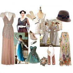 Downton Abbey Fashions