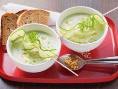 Menú de 'tupper' para la oficina: 5 recetas sanas, fáciles y rápidas de preparar Toma nota de nuestras ideas gourmet para que tu vuelta a la rutina sea más llevadera... ¡y saludable!  Sopa fría de pepino