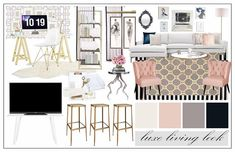 Glam concept board for the lovely @msfullbloom Stay tuned for the renderings!  . . . . #interiordesign #interiordesigner #inspo #inspiration #instagood #instalove #inspiration #me #love #photooftheday #style #styling #edesign #followforfollow #pinterest #hgtv #designlife #designer #designersofinstagram #glam #glamour #glamdesign #luxe #livingroom #mood #moodboard #instadecor