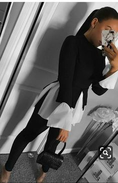 50 Stylish Black And White Outfits Ideas For Women 50 Stylish Black And W. 50 Stylish Black And White Outfits Ideas For Women 50 Stylish Black And White Outfits Ideas For Women ausstattungen ausstattungen Business Casual Outfits, Classy Outfits, Stylish Outfits, Business Fashion, Formal Outfits, Casual Attire, Mode Outfits, Fall Outfits, Fashion Outfits