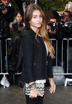 Thylane-Blondeau-Chanel-Mosaic-Flap-Bag