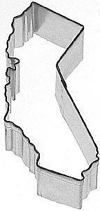 I'd like to collect every cookie cutter state & make my own USA map! [california cookie cutter]