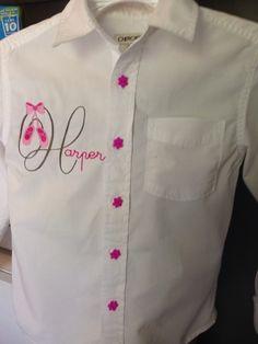 Recital shirt cover up
