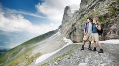 Eiger Trail: The Swiss Alpine Experience Trail - Switzerland Tourism Eiger North Face, Hotel Breaks, Grindelwald, Switzerland Tourism, Alpine Adventure, Swiss Air, Wanderland, Zermatt, Enjoy Summer