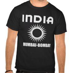 Mumbai-Bombay white Tshirt