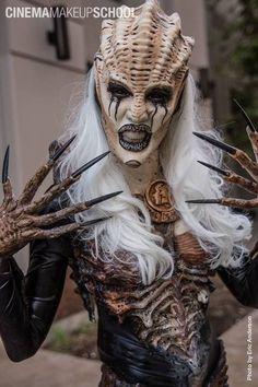 Demonic Alien. ~ One of my favorite SFX looks.  special effects, makeup, sci fi, prosthetics,