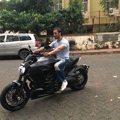Vidyut Jammwal  whit bike #Ducati