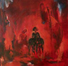 Béatriz Moya - Homenaje a Vélasquez - Les menines Huile sur toile - 100X100 cm
