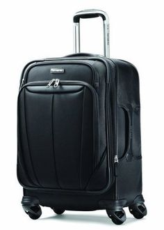 Samsonite Luggage Silhouette Sphere Expandable 21 Inch Spinner Black One Size ** Check out the image by visiting the link. (This is an affiliate link) Cheap Luggage, Buy Luggage, Luggage Deals, Pink Luggage, Luggage Brands, Luggage Suitcase, Luggage Store, Suitcase Sale, Large Suitcase