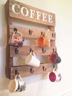 Make something like this to display my handmade mugs