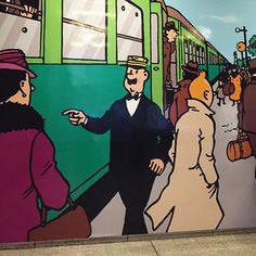 #Tintin is everywhere in #Brussels. #visitbrussels and discover the #European capital of #ComicStrip. Pic by @smarksthespots